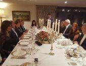 سفير مصر بأثينا يقيم حفل عشاء بحضور وزيرة الهجرة ووفدى اليونان وقبرص