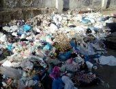 صور.. شكوى من تراكم القمامة بشارع أحمد فاروق فى سموحة بالإسكندرية