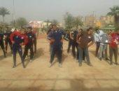 وفد من جامعة المنوفية يشارك فى فعاليات افتتاح معهد إعداد القادة بحلوان