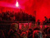 صور.. مظاهرة لطلاب الجامعات فى فرنسا ضد تعديل قانون التعليم