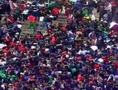 فيديو.. مواجهات عنيفة بين الأمن وجماهير المولودية بنصف نهائى كأس الجزائر