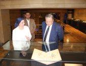 صور.. رئيس دار الكتب يزور مبنى باب الخلق استعدادا لافتتاحه