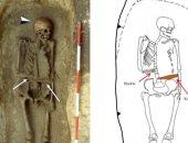 صور.. العثور على هيكل محارب إيطالى استخدم طرفا صناعيا  فى العصور الوسطى
