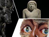 """صور.. الآثار المصرية تباع فى مزاد علنى بـ نيويورك.. """"كريستيز"""" يحجب سعر تمثال """"الثور"""" لزيادة سعره.. وتمثال سخم خت بـ 1.5 مليون دولار.. بورتريه الفيوم يصل لـ120 ألف دولار ورأس فرعونية بـ300 ألف دولار"""