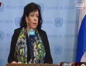 فيديو.. مندوبة بريطانيا بالأمم المتحدة: الدبلوماسية وحدها لن تكون فعالة بسوريا