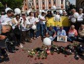 صور.. وقفة احتجاجية فى الإكوادور عقب مقتل صحفيين وسائق سيارتهما