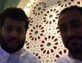 فيديو.. تركى آل شيخ يهنئ سامى الجابر برئاسة نادى الهلال السعودى