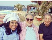شيماء سيف عن صورتها مع يحيى الفخرانى: بالحجم العائلى