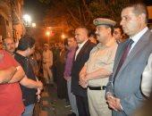 رئيس مدينة أشمون يطلق اسم شهيد سيناء على مدرسة صراوة الثانوية الجديدة