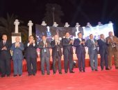 رئيس جامعة المنوفية يشارك فى ختام فعاليات افتتاح معهد إعداد القادة بحلوان