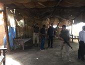 صور.. أمن سوهاج يزيل 14 حالة تعد لمقاهى تستخدم فى تجارة المخدرات