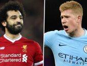 محمد صلاح يتفوق على دى بروين فى استطلاع خبراء BBC لجائزة لاعب العام