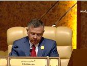 العاهل الأردنى يؤكد لبايدن تطلعه لتوطيد علاقات الشراكة الاستراتيجية بين عمان وواشنطن