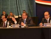 أسامة هيكل فى اجتماع الجمعية العامة للمدينة: نبذل جهدنا لإعادة حقوق المساهمين