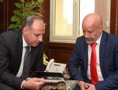 صور .. محافظ الإسكندرية يستقبل قنصل عام ليبيا الجديد