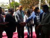 هيئة الكتاب تفتتح معرضا فى جامعة الإسكندرية