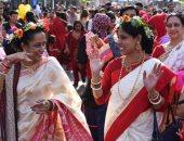 صور.. احتفال مواطنو بنجلاديش المقيمين فى أمريكا بالسنة الجديدة