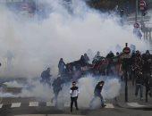 صور.. اعتقال 51 متظاهر فى اشتباكات مع الشرطة جنوب فرنسا
