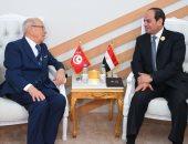 الرئيس التونسى يشيد باستعادة مصر لدورها الرائد والفعّال على الصعيد الإقليمى