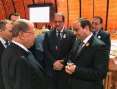 عون يبعث برقية إلى الرئيس السيسى معزيًا فى ضحايا حادث القطار