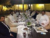 أول صورة تجمع السيسى وزعماء العرب على مأدبة عشاء ودى عقب قمة القدس