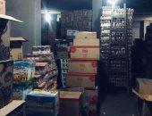ضبط 3 مصانع بها 16 طن أغذية و13000 عبوة أيس كريم مجهولة المصدر بالقليوبية