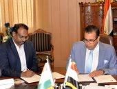 صور.. جامعة المنصورة توقع اتفاقية تعاون مع معهد تكنولوجيا الدواء بالهند