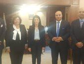 """وفد """"المرشدين السياحيين"""" يلتقى رانيا المشاط لبحث مشاكل النقابة"""
