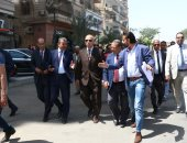 محافظ القاهرة: تطوير سوق المنهل والمحاور الرئيسية بشرق مدينة نصر