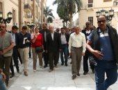 محافظ القاهرة: تغيير أنشطة مقاهى شارع الشريفين بمنطقة البورصة