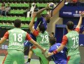 صور.. خسارة سبورتنج أمام فاب الكاميرونى فى البطولة الأفريقية لكؤوس اليد