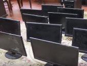 فيديو.. طالب بدمياط يسرق غرفة الحاسب الآلى بمدرسته ردا على قرار فصله
