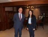 وزيرة السياحة تستقبل السفير الإيطالى بالقاهرة لبحث سبل تعزيز التعاون