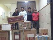 القبض على عصابة استولت على  8000 علبة سجائر قبل بيعها فى القاهرة
