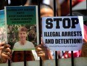 صور.. مظاهرات فى استراليا دعما لراهبة طردتها الفلبين بسبب أنشطة سياسية