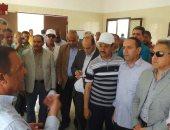 لجنة الإدارة المحلية بالبرلمان تستهل زيارتها لأسوان بتفقد محطة مياه جبل شيشة
