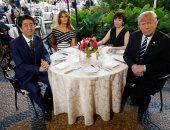 ترامب ورئيس الوزراء اليابانى يتفقان على تكثيف المشاورات التجارية