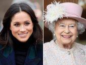 """خلاف بين الملكة إليزابيث و""""ميجان ماركل"""" على تفاصيل الزفاف.. اعرف السبب"""