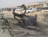 ننشر أول فيديو لمحاولة تفجير موكب رئيس أركان الجيش الليبى