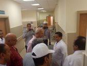 صور.. تفاصيل زيارة وفد محلية البرلمان لمستشفى أسوان العام