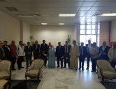 صور.. محافظ أسوان يستقبل وفدًا من لجنة الإدارة المحلية بالبرلمان
