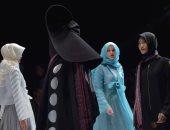 صور.. عباءات ولفات طرح مختلفة بمهرجان الأزياء الإسلامية بإندونيسية