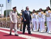 وزير الدفاع يلتقى نظيره اليونانى لبحث زيادة التعاون المشترك بين البلدين