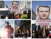 شلل بمحطات السكة الحديد بفرنسا رفضا لإصلاحات ماكرون وسط تظاهرات