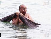 صورة اليوم.. من البحر لموا الشبك يا صيادين