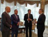 شريف فتحى يستقبل سفير كندا.. وجولة بشركة مصر للطيران للصيانة