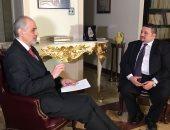 بشار الجعفرى لمايكل مورجان: الجيش أنقذ مصر ولولاه لتحولت لعراق وليبيا