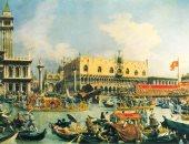 شاهد أقدم رسمة تصور مدينة البندقية منذ عام 1350 على يد راهب إيطالى