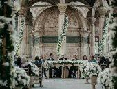 """فوتوسيشن لعروسين فى مسجد محمد على بالقلعة يثير إعجاب رواد """"فيس بوك"""""""