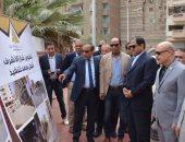 فيديو.. صور .. محافظ الغربية يفتتح شارع النقيب محمود الكومى ويتفقد أعمال تطوير الكورنيش